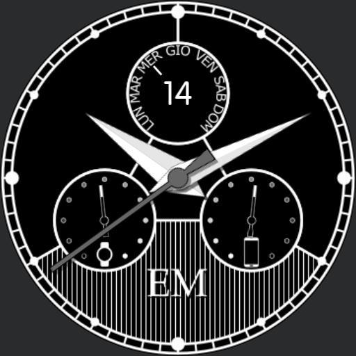 EM classic white
