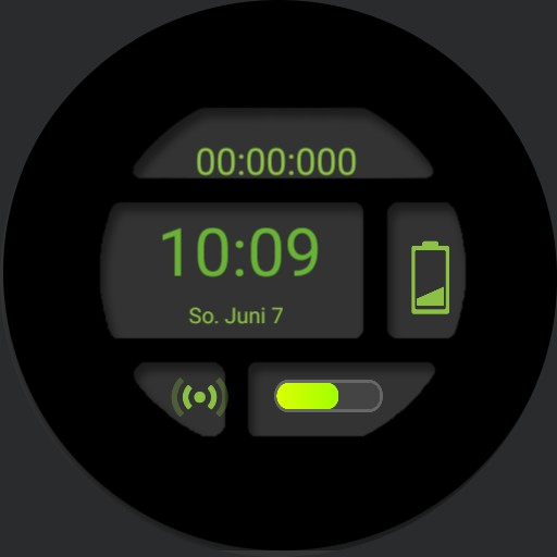 SG Watch Face 5 digital