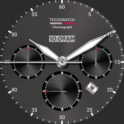 silver MEN chronograph v 2.0.0