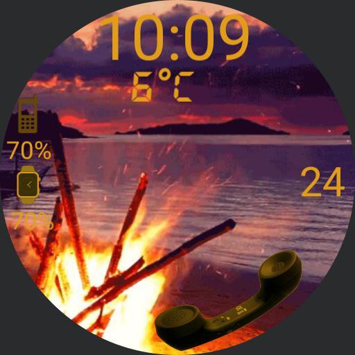 sea fire skey kuwait bo kassem