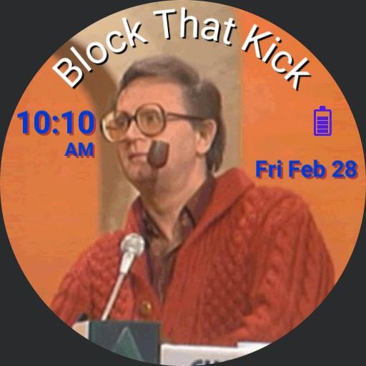 Block that Kick