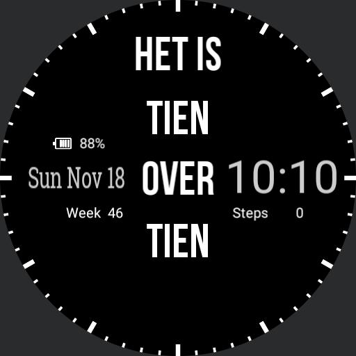 Dutch Smartwatch  v0.0.2