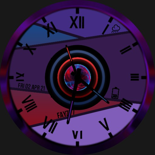 Abstract watch face.