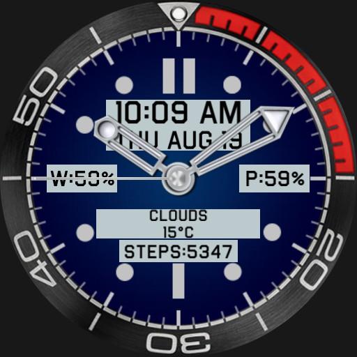 Smart looking watch