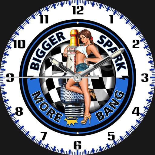 Bigger Spark Pin-Up