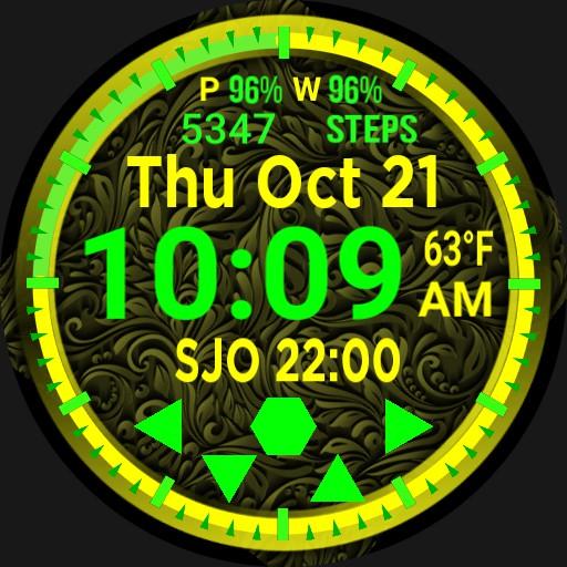 Big Digital Fluorescent Calendar Step Player