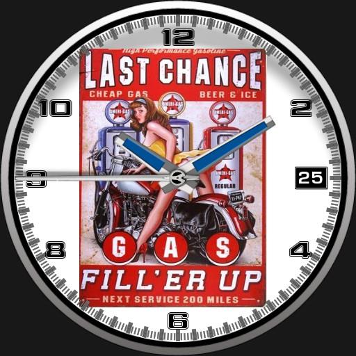 Last Chance Garage Pin-Up Watch