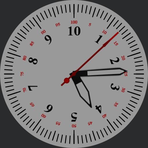 Decimal 10h Watch Non-Roman Version