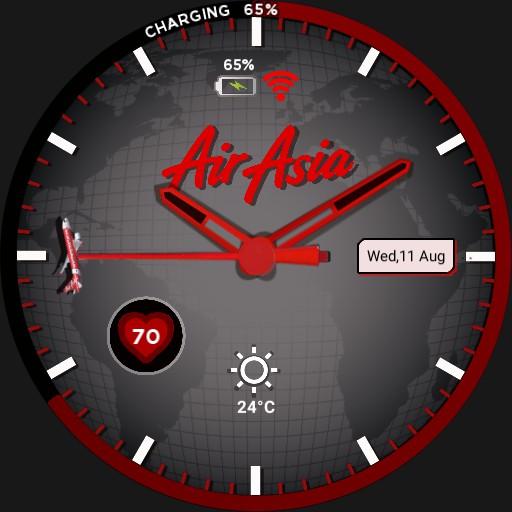 AirAsia Red Black
