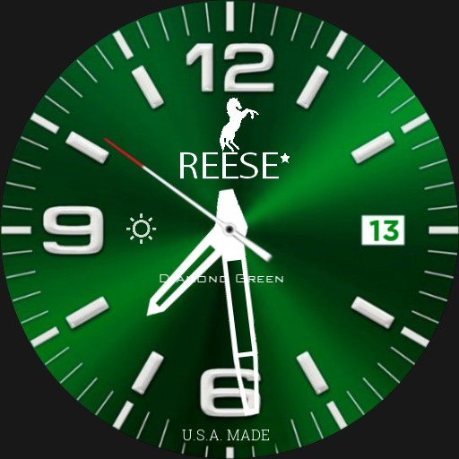 Reese Diamond Green