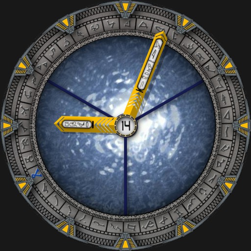 Stargate SG-1 V4 with working Iris