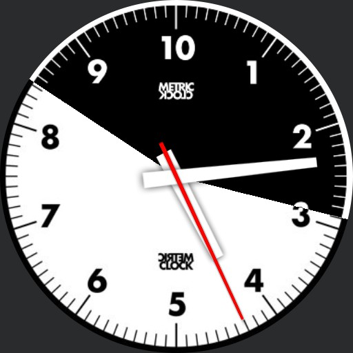 RoufXis 10h Decimal Time Watch