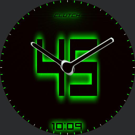 Play Clock green