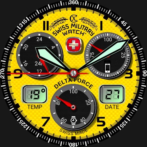 Delta Force Swiss Yellow