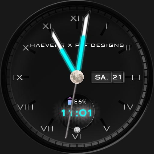 HAEVENS X PAF DESIGN Watchface