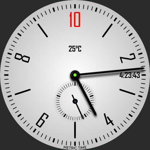 Messiah 10h Decimal Time Watch