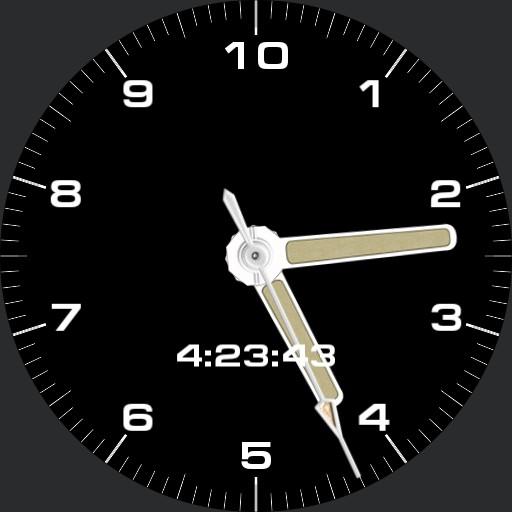 Grueso Decimal Time Watch