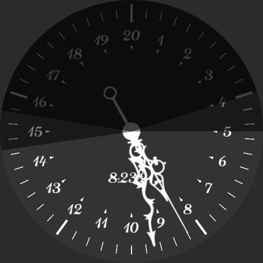 Buggy Semi Decimal Time Watch