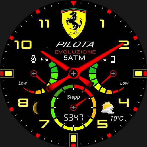 Huawei Ferrari riproduzione