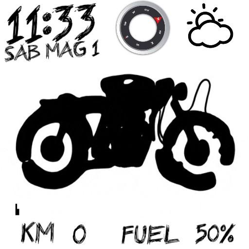motorbike go to ride