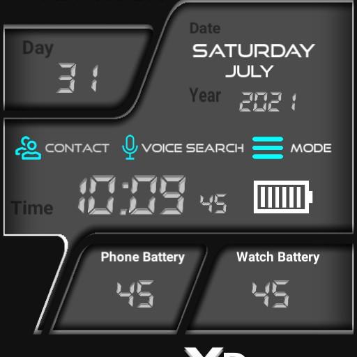 Mi Watch Digital clock