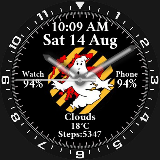 Ghostbusters Of Scotland Watchface