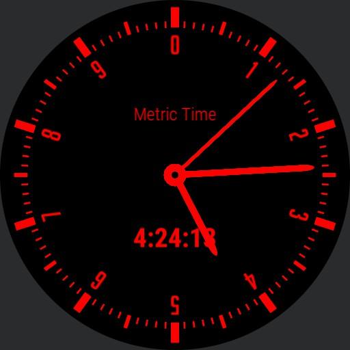 Nameless Decimal Time Watch