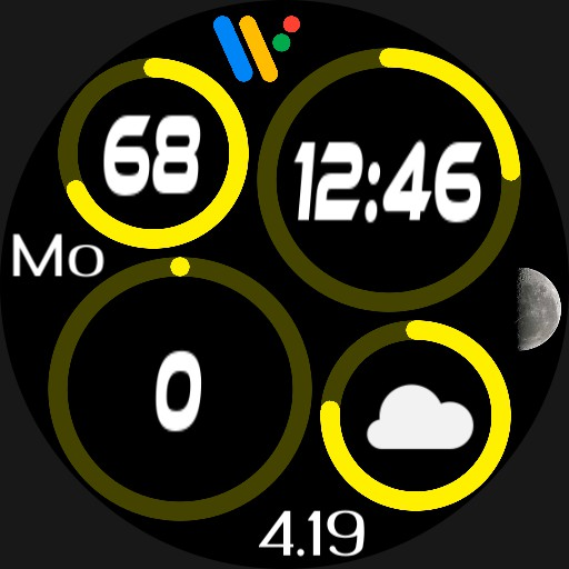 Quad Rings 3 Wear OS