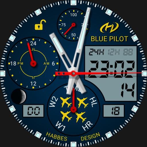 IWD Blue Pilot CBA-pro