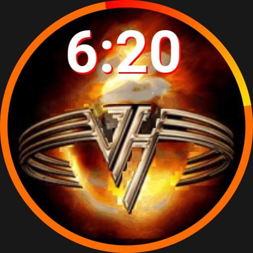 Van Halen Burning