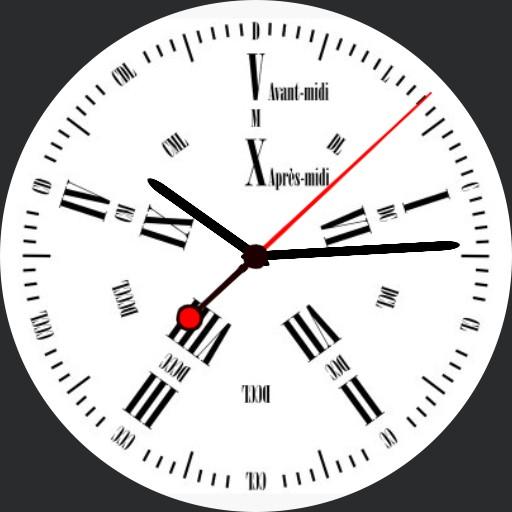 Classic 5h Decimal Time Watch