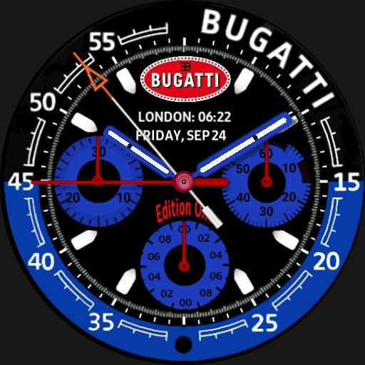 Bugatti Chrono Stopwatch