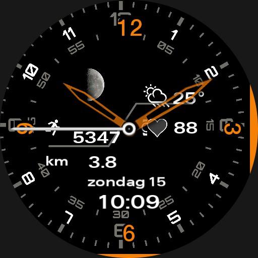 MM orange watch