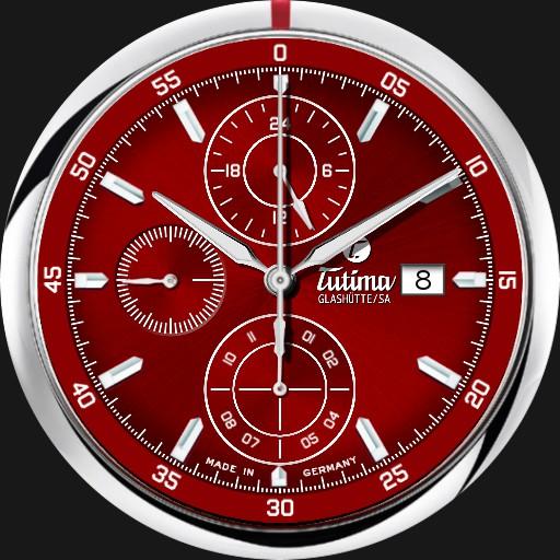 Tutima Saxon One Chronograph Racing Red