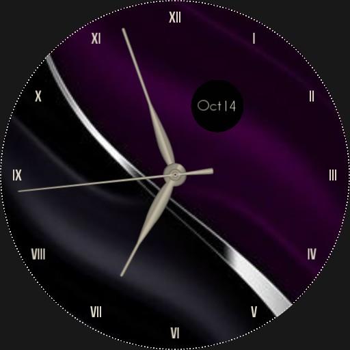 Elegant Purple & Black
