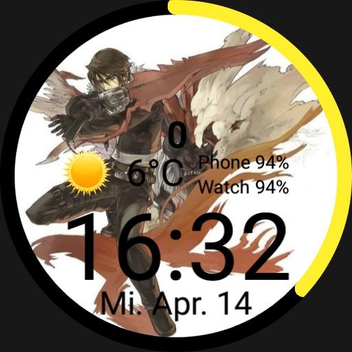 FF8 - Final Fantasy 8 watchface Squall