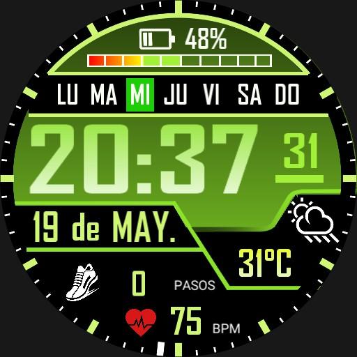 Loskives 3 Verde Watchface