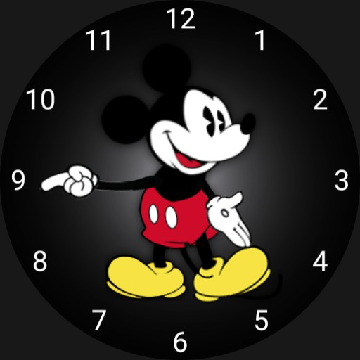 Mickey Mouse Apple Animated All Numbers