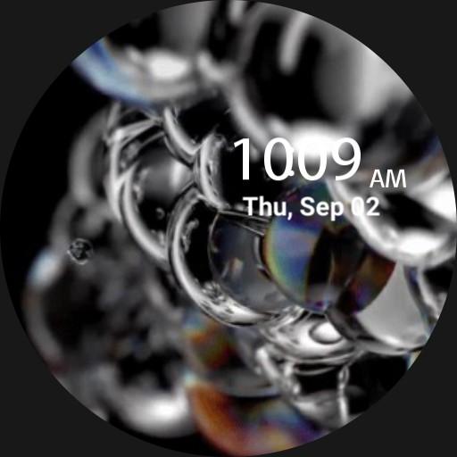live bubbles galaxy watch 3 Copy