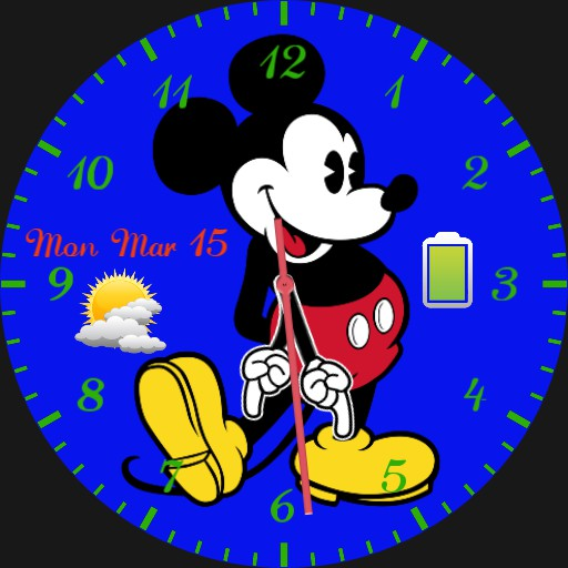 Old fashion Mickey Mouse