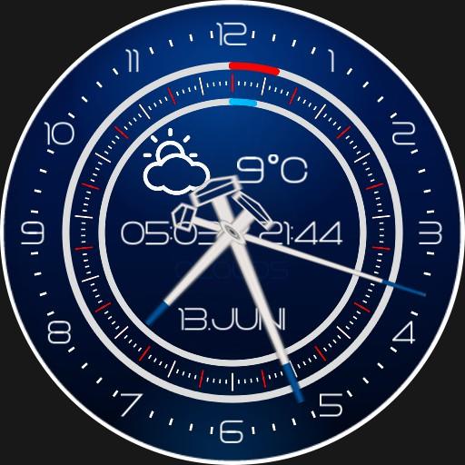 Regatta Sylt    Windspeedometer 2S.Rotation Tide