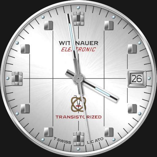 Wittnauer Electronic Transistorized C.1968 2 in 1