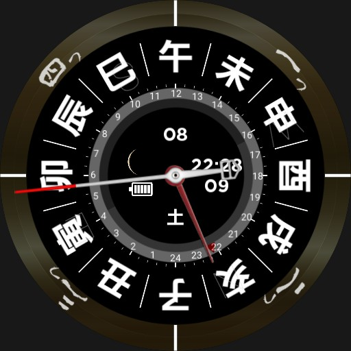 12shi 24hours clock by zero Copy