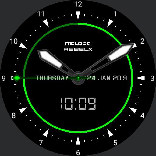 MClass RebelX Analogue 24h
