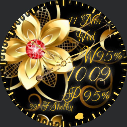 golden elegance by geri