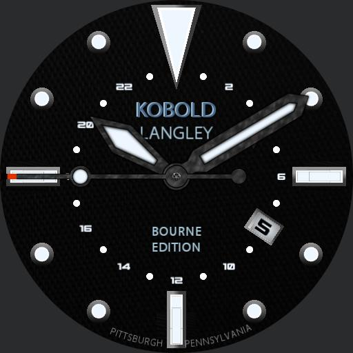 Kobold Langley GMT - Tactical Bourne Edition Copy