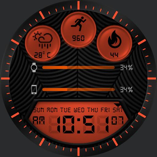 NUCLEAR Watch Face