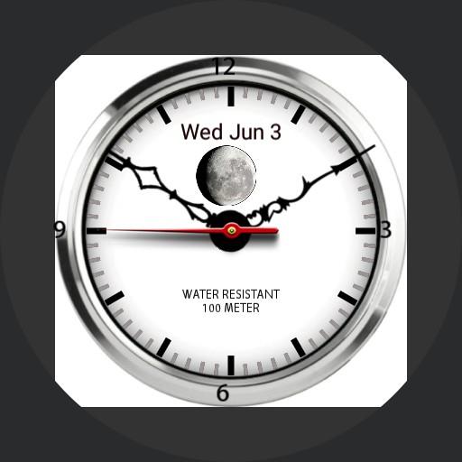 Antique White Watch