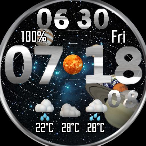 Solar system watch R2