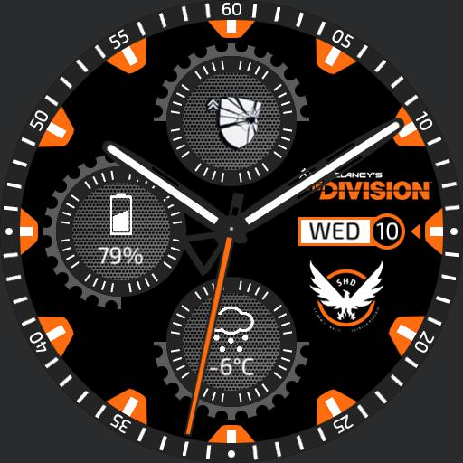 The Division - Agent Watchface Copy